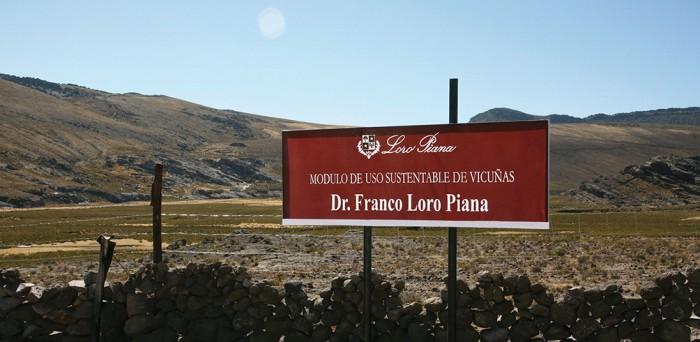 秘魯Dr. Franco Loro Piana駱馬自然保護區